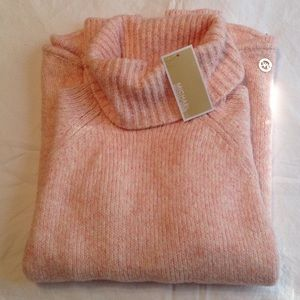 Sweaters - NWT Michael Kors pink marled sweater